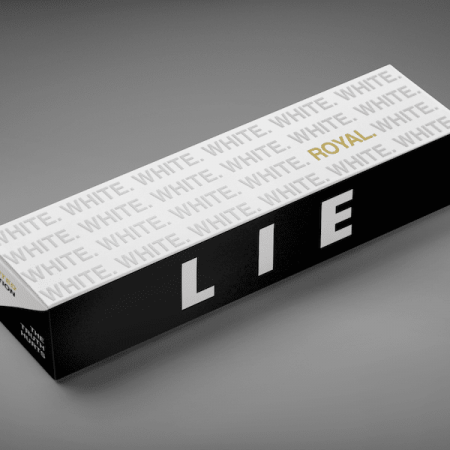 PACKAGING - WHITE LIE